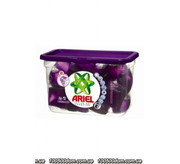 Капсулы для стирки Ariel Active Gel Color и Style 16 шт
