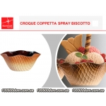 Набор креманок CROQUE BOWL SPRAY BISCOTTO - 200 мл